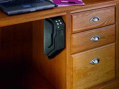 GunVault SV500 - SpeedVault Handgun Safe Gun Vault, Design Blogs, Home Design, Design Ideas, Armadura Sci Fi, Hidden Gun Storage, Weapon Storage, Secret Storage, Gun Rooms