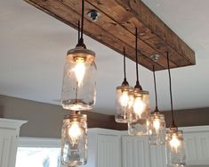 Mason jar chandelier mason jar chandelier jar chandelier and this is the perfect mason jar chandelier for your home the mason jar light is completely handmade the fixture pictured is our with aloadofball Images