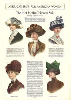 American Hats for American Women by cluttershop, via Flickr