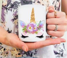 UNICORN MUG Unicorn Coffee Mug | Magical Mug | Cute Mug Our mugs are sublimated through a heat-press with the highest quality ink, that will not fade. We sublimate the image on both sides of the mug as well. They are also completely safe to put in your microwaves & dishwashers! We package