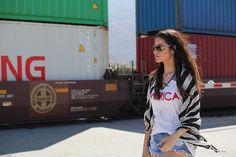 3 Coachella Inspired Music Festival Looks - Glam Latte #Coachella #festivalstyle #ontheblog