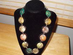 Shell necklace 20 by JoyceBartoli on Etsy, $10.00