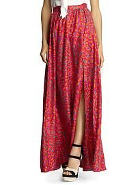 Sale: Designer Apparel | Piperlime  Rachel Zoe Silk Maxi Skirt