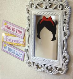 Fun decorations at a Princess party!  See more party ideas at CatchMyParty.com!  #partyideas #princess