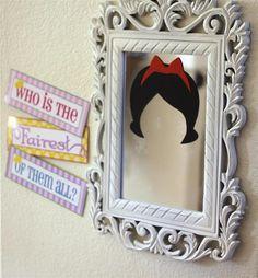 Fun decorations at a Princess party!  See more party ideas at CatchMyParty.com!  #partyideas #princess