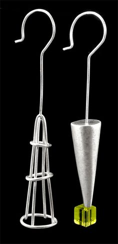 GROUNDLESS, satin finished silver with glass earrings by  #POLAOSLO Design at www.polaoslodesign.com