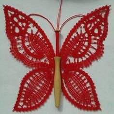 Bobbin Lace, Collars, Butterfly, Pattern, Inspiration, Ideas, Bobbin Lacemaking, Needlepoint, Butterflies