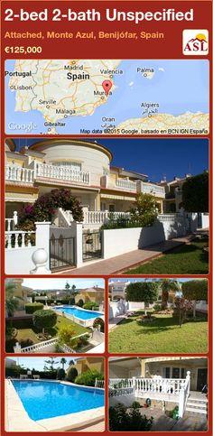 2-bed 2-bath Unspecified in Attached, Monte Azul, Benijófar, Spain ►€125,000 #PropertyForSaleInSpain