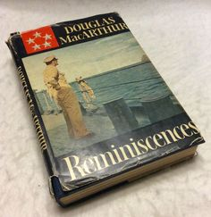 Douglas MacArthur Reminiscences first edition 1964 book great w jacket