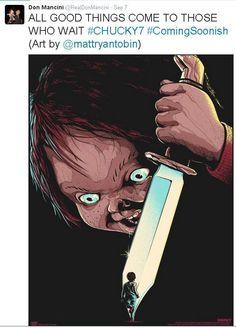 Criador de Chucky anuncia sétimo filme sobre o boneco assassino - Cultura e Lazer - Diário