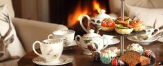Afternoon tea by the fire anyone?