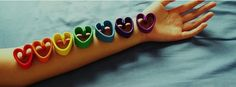 Facebook Timeline Cover Love - Hearts On Forearm