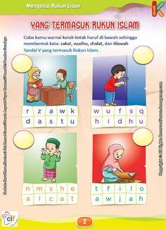 Download Gratis Worksheet Yang Termasuk Rukun Islam | Ebook Anak