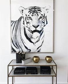 WEBSTA @ maritsanbul - 'We' call it home 🐯 #interior #living #inspiration #favorite #place #simple #white #black #decoration #interiordesign