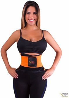 d87617d9e3 Womens Xtreme Power Belt Fitness Body Shaper Orange Miss Waist Trainer Size  Large -- Want