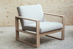 The Box Chair | Mr & Mrs White
