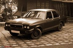 Contessa by Hindustan Motors. This was a prestigious car to own n travel during the schooling days.