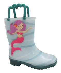 Teal Ella Rain Boot
