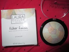 Whats Inside Your Beauty Bag?: Laura Geller Filter Finish Baked Radiant Setting P...