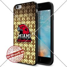 Case Miami (Ohio) RedHawks Logo NCAA Cool Apple iPhone6 6S Case Gadget 1299 Black Smartphone Case Cover Collector TPU Rubber [Sherlocked] Lucky_case26 http://www.amazon.com/dp/B017X12GYQ/ref=cm_sw_r_pi_dp_ZEjtwb1FMAA75