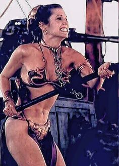 Slave No More -- Carrie Fisher as Princess Leia in Star Wars: Episode VI --- Return of the Jedi Star Wars Mädchen, Leia Star Wars, Star Wars Girls, Female Movie Characters, Star Wars Characters, Super Heroine, Carrie Frances Fisher, The Blues Brothers, Actrices Hollywood