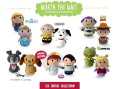Some of the upcoming Hallmark itty bittys. Not following stitchkingdom.tumblr.com already? Just imagine what you've been missing!