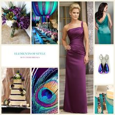 Elements of Style – Peacock Wedding - this is fun!