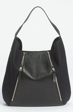 """The double zip detail on this Marni hobo adds a nice touch of edge"" -Jeffrey Kalinsky, Nordstrom Designer Expert"