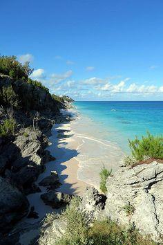#Bermuda Ryan Tacklin  Marley Beach from Astwood Park.