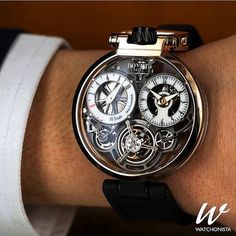Via @watchonista  The stunning Bovet OttentaSei Tourbillon! by dailywatch