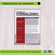 Produções #Legra | Tabela Teorias do Jornalismo