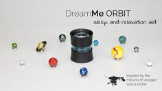 DreamMe ORBIT - the first sleep and relaxation aid in one which uses your mobile phone as a projector. Helps you to relax and fall asleep. #DreamMe #ORBIT #relaxation #sleep #aid #smartphoneprojector