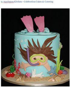Little Diver cake