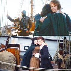 #Outlander #Murtagh #Jamie #Claire Season One Finale
