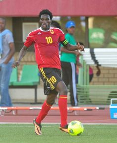 Manuel Afonso of Angola during the Cosafa u20 Youth Championship Group B game between Angola and Madagascar at Setsoto Stadium, Maseru in Lesotho on 4 December 2013 ©Ryan Wilkisky/BackpagePix