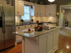 my chalk painted cabinets in annie sloan chalk in pure white