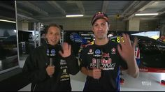 Jamie Whincup & Simona De Silvestro Full Interview The Project 7 October...