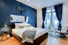 HappyModern.RU   Спальня в синем цвете: как создать уютный и теплый интерьер в холодной гамме   http://happymodern.ru