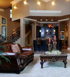 A large living room