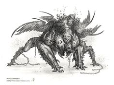 Sketches and Rough Concepts :The Art of Mike Corriero - Concept Art & Illustration