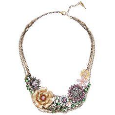 Chloe + Isabel Multi Charm Garden Statement Necklace $168.00