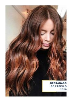 Brown With Auburn Balayage ❤ Going for auburn hair color might take some research and then some courage. But if the shade is chosen correctly, you will stand out wherever you go. ❤ hair, 50 Auburn Hair Color Ideas To Look Natural Blonde Hair With Highlights, Brown Blonde Hair, Light Brown Hair, Brunette Hair, Brown To Red Hair, Auburn Blonde Hair, Color Highlights, Red Hair For Fall, Red Hair Dark Roots