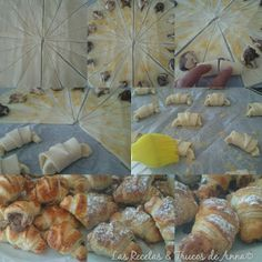 Las Recetas & Trucos de Anna: Mini-Croissants de Hojaldre con Mermelada de Naran...