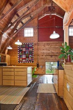 105 Year-Old Converted Barn On Bainbridge Island — House Tour | Apartment Therapy