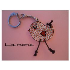 "DIY Mother's Day 2017 - keychain chick ""Pioupiou"", handmade, crazy plastic: keychain by the-mome - Plastic Fou, Diy Shrink Plastic, Plastic Items, Plastic Jewelry, Diy Jewelry, Shrink Film, Shrink Art, Friendly Plastic, Shrinky Dinks"