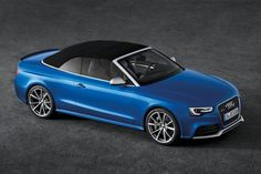 Audi RS5 Cabrio. I generally hate cabrios but this one is cool enough to get my thumbs up.