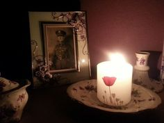 Sue William's candle #LightsOut #WeRemember #WW1