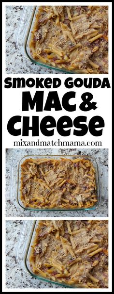 Smoked Gouda Mac & C