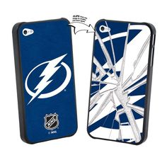 Iphone 5 NHL Tampa Bay Lightning Broken Glass Lenticular Case