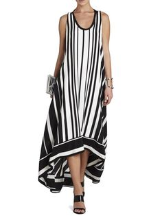 Dresses,Casual Dress,Crew Neck Women Casual Dress A-line Daily Sleeveless Basic Dress,TESTW Source by Dresses casual Petite Outfits, Mode Outfits, Trendy Outfits, Mode Cool, Maxi Robes, Outfit Trends, Striped Maxi Dresses, Lace Dresses, Summer Dresses For Women